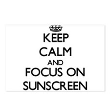 Keep Calm and focus on Su Postcards (Package of 8)