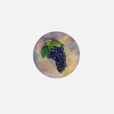 Red Wine Grapes Mini Button (10 pack)