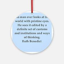 benedict.png Ornament (Round)