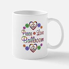 Peace Love Ballet Mug