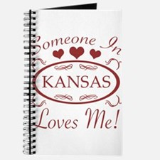 Somebody In Kansas Loves Me Journal
