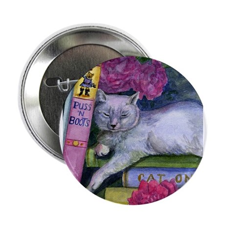 "Puss 'n Boots 2.25"" Button (100 pack)"