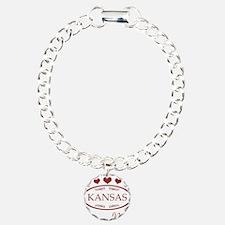 Somebody In Kansas Loves Bracelet