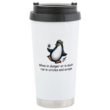 Cute Antartica Travel Mug