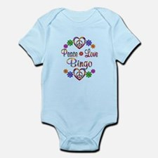 Peace Love Bingo Infant Bodysuit