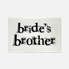 Bride's Brother Rectangle Magnet