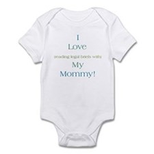 Mommy's Legal Briefs Infant Bodysuit