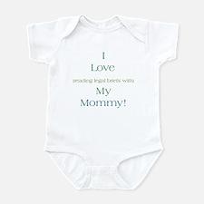 Mommy's Legal Briefs Onesie