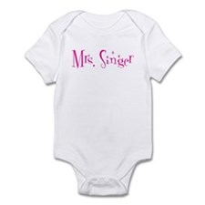 Mrs. Singer Infant Bodysuit
