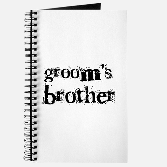 Groom's Brother Journal