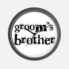 Groom's Brother Wall Clock