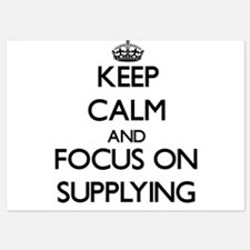 Keep Calm and focus on Supplying Invitations