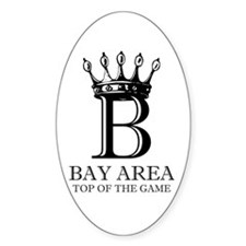 Top of the Game Oval Decal