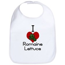 I love-heart romaine lettuce Bib