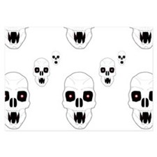 Skulls Transparent Invitations