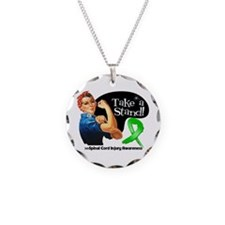 Spinal Cord Injury Stand Necklace