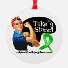 Spinal Cord Injury Stand Ornament