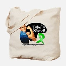 Spinal Cord Injury Stand Tote Bag