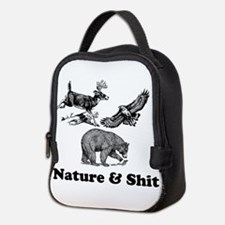 Nature & Shit Neoprene Lunch Bag