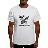Tshirt squirrel Mens Light T-shirts