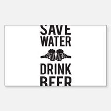 Save Water Drink Beer Decal