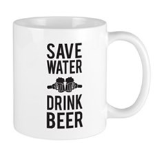 Save Water Drink Beer Mugs