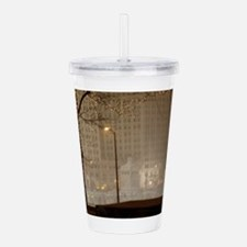 Christmas in Chicago Acrylic Double-wall Tumbler