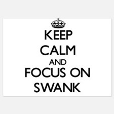 Keep Calm and focus on Swank Invitations
