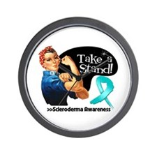Scleroderma Stand Wall Clock