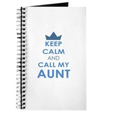 Keep Calm and Call My Aunt Journal