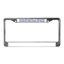 BRUMBAUGH University License Plate Frame