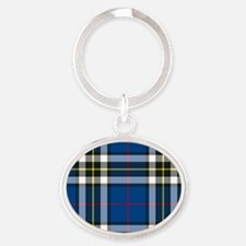 Tartan - Thomson dress Oval Keychain