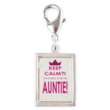 Keep Calm Im going to be an auntie Charms