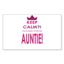 Keep Calm Im going to be an auntie Decal