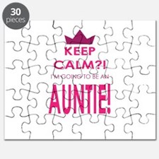 Keep Calm Im going to be an auntie Puzzle