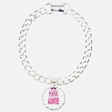 I cant keep calm going to be an auntie Bracelet