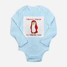 Pomodoro Penguin Red Rules Body Suit