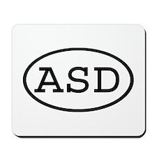 ASD Oval Mousepad