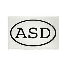 ASD Oval Rectangle Magnet