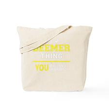 Funny Beemer Tote Bag
