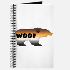 FURRY PRIDE BEAR/WOOF Journal