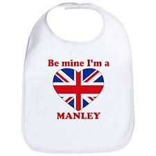 Manley, Valentine's Day Bib