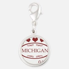 Somebody In Michigan Loves Me Charms