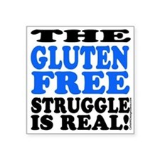 Gluten Free Struggle Blue/Black Sticker