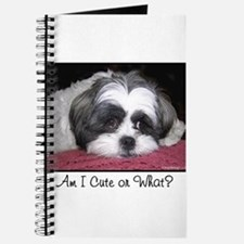 Cute Shih Tzu Dog Journal