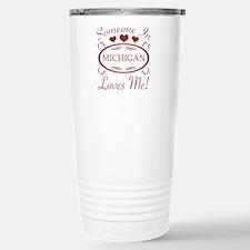 Somebody In Michigan Lo Travel Mug