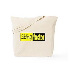 sibling factor Tote Bag