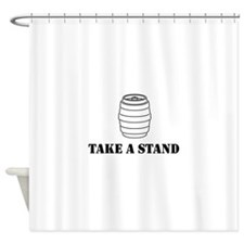 Take A Stand Shower Curtain