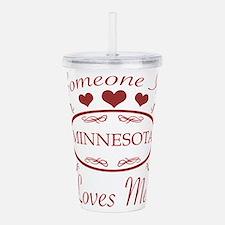 Somebody In Minnesota Acrylic Double-wall Tumbler