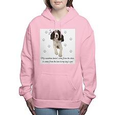 English Springer Spaniel Women's Hooded Sweatshirt